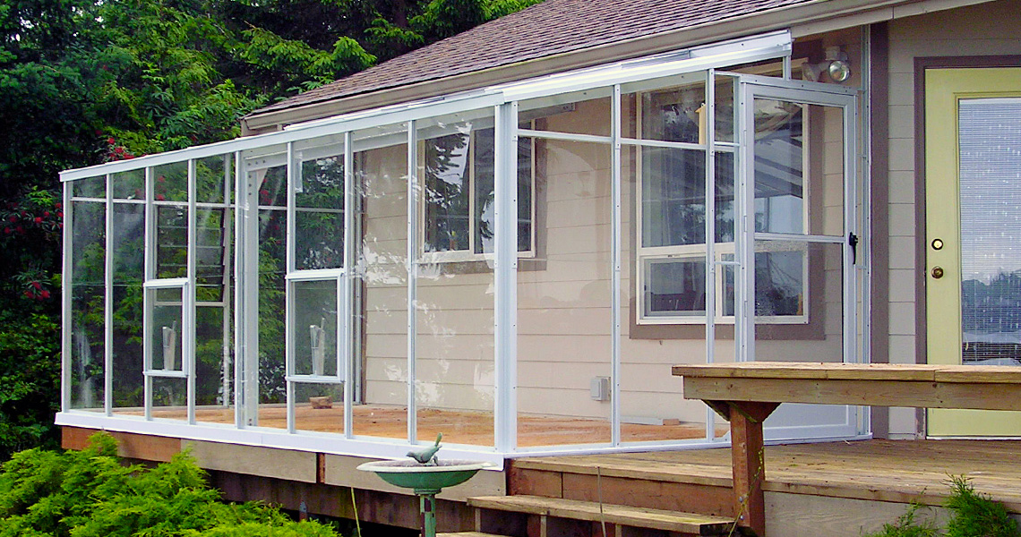 Single Glass Patio Enclosures : Clear Choice Glass